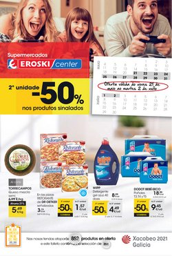 Ofertas de Hiper-Supermercados en el catálogo de Eroski en Verín ( 4 días más )