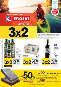 Ofertas de Hiper-Supermercados en el catálogo de Eroski en Alsasua ( Caduca hoy )