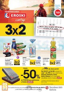 Ofertas de Hiper-Supermercados en el catálogo de Eroski en Bembibre ( Caduca hoy )