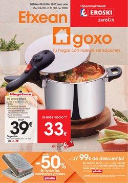 Ofertas de Hiper-Supermercados en el catálogo de Eroski en Basauri ( 2 días publicado )