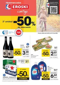 Ofertas de Hiper-Supermercados en el catálogo de Eroski en Toledo ( 3 días publicado )