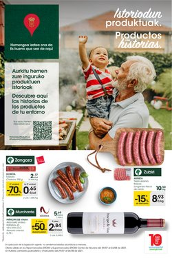 Ofertas de Hiper-Supermercados en el catálogo de Eroski ( 2 días más)