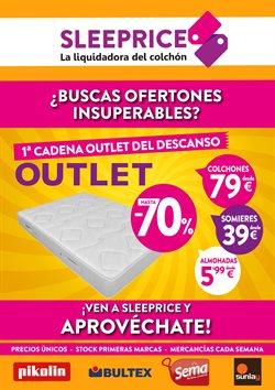 Ofertas de Hogar y muebles  en el folleto de Sleeprice en Palma de Mallorca