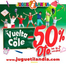 Ofertas de Juguetes y Bebés en el catálogo de Juguetilandia ( 5 días más)