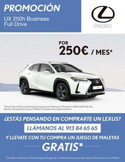 Catálogo Lexus ( 12 días más )