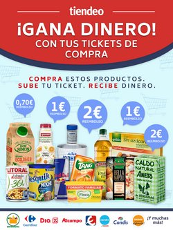 Ofertas de Hiper-Supermercados en el catálogo de CashbackTiendeo en Segorbe ( 5 días más )