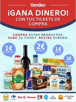 Ofertas de Hiper-Supermercados en el catálogo de CashbackTiendeo en Bullas ( Caduca hoy )