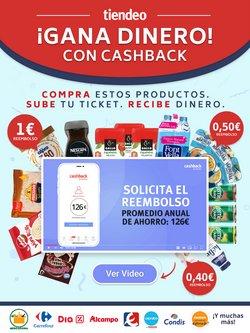 Catálogo CashbackTiendeo en Barcelona ( 16 días más )