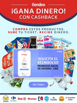 Ofertas de Hiper-Supermercados en el catálogo de CashbackTiendeo en Barberà del Vallés ( 22 días más )
