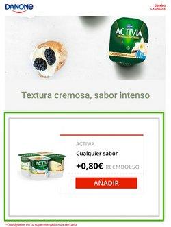 Ofertas de Activia en el catálogo de CashbackTiendeo ( 2 días más)