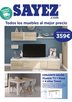 Ofertas de Muebles Sayez  en el folleto de Barberà del Vallés
