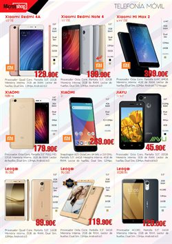 Ofertas de Xiaomi  en el folleto de Microsshop en Madrid