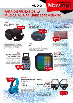Ofertas de Auriculares deportivos  en el folleto de Microsshop en Madrid