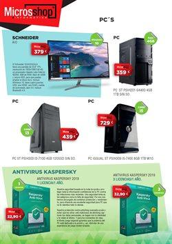 Ofertas de Antivirus  en el folleto de Microsshop en Alcalá de Henares