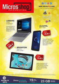 Ofertas de Microsshop  en el folleto de Madrid