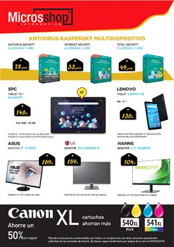 Ofertas de Multimedia en Microsshop