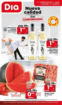 Ofertas de Hiper-Supermercados en el catálogo de Dia ( Publicado hoy)