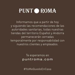 Cupón Punt Roma en Alcorcón ( 9 días más )