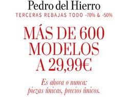 Catálogo Pedro del Hierro ( Caducado)