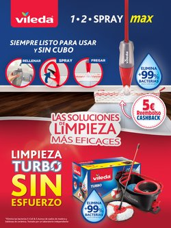 Ofertas de Hiper-Supermercados en el catálogo de Vileda ( 8 días más)