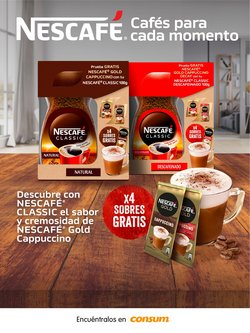 Ofertas de Consum en el catálogo de Nescafé ( 4 días más)