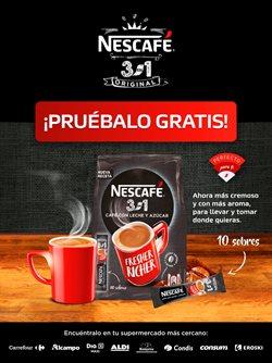 Ofertas de Restauración en el catálogo de Nescafé ( Más de un mes)
