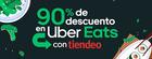 Cupón Uber Eats en Vecindario ( 25 días más )