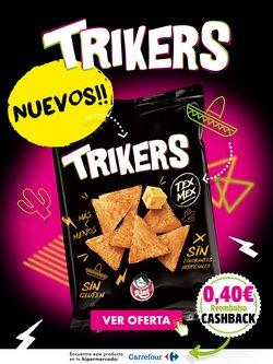Ofertas de Hiper-Supermercados en el catálogo de Trikers ( 5 días más)