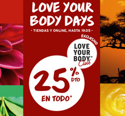 Ofertas de The Body Shop  en el folleto de Alicante