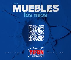 Ofertas de Tifón Hipermueble en el catálogo de Tifón Hipermueble ( Más de un mes)