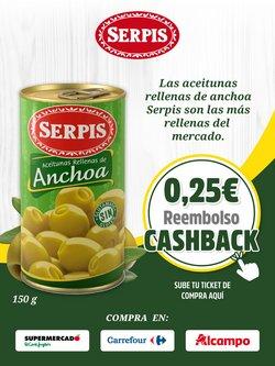 Ofertas de Hiper-Supermercados en el catálogo de Serpis ( 11 días más)