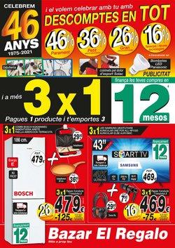 Catálogo Bazar El Regalo ( 20 días más)