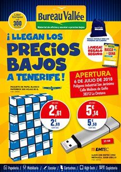 Ofertas de Libros y papelerías  en el folleto de Bureau Vallée en Santa Cruz de Tenerife
