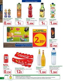 Ofertas de Coca-Cola  en el folleto de Alcampo en Madrid