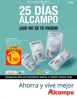 Ofertas de Alcampo  en el folleto de Zaragoza