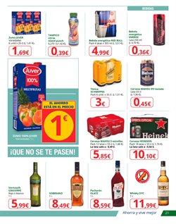 Ofertas de Heineken  en el folleto de Alcampo en Zaragoza