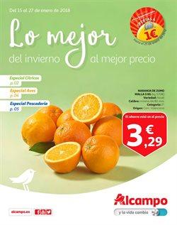 Ofertas de Hiper-Supermercados  en el folleto de Alcampo en La Orotava