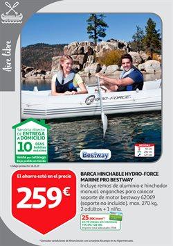 Ofertas de Barca hinchable  en el folleto de Alcampo en Madrid