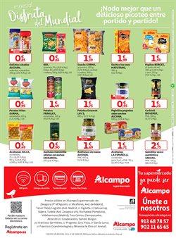 Ofertas de Snacks  en el folleto de Alcampo en Madrid