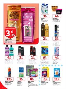 Ofertas de Gillette  en el folleto de Alcampo en Bilbao