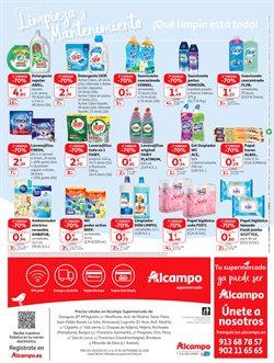 Ofertas de Fairy  en el folleto de Alcampo en Madrid
