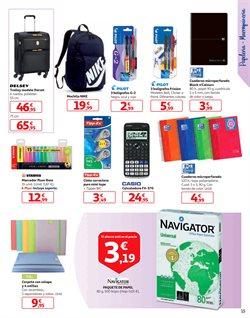 Ofertas de Paquete de papel  en el folleto de Alcampo en Madrid