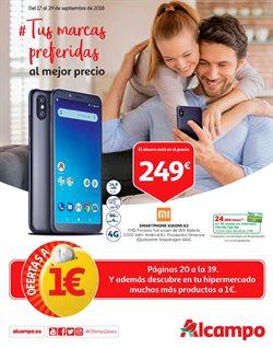 Ofertas de Smartphones  en el folleto de Alcampo en Vecindario