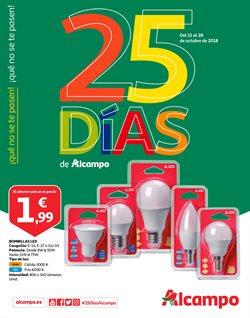 Ofertas de Alcampo  en el folleto de Valencia