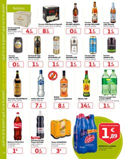 Ofertas de Cerveza  en el folleto de Alcampo en Motril