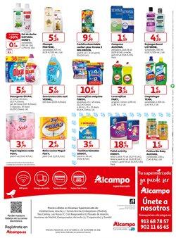 Ofertas de Detergente lavavajillas  en el folleto de Alcampo en Madrid