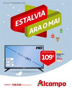 Ofertas de Televisores  en el folleto de Alcampo en Granollers