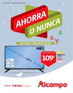 Ofertas de Navidad  en el folleto de Alcampo en Santa Lucía de Tirajana