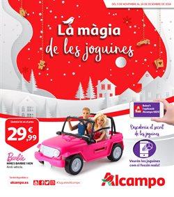 Ofertas de Alcampo  en el folleto de Barcelona