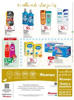 Ofertas de Champú  en el folleto de Alcampo en Torrejón